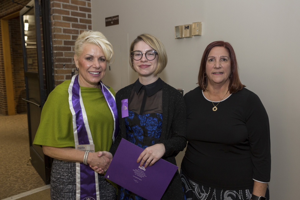 Omicron Sigma At-Large Chapter Charter Amendment Ceremony