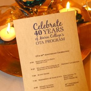 2015 OTA Alumni Event