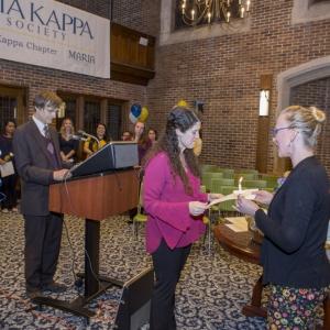 Phi Theta Kappa Induction Ceremony 2017