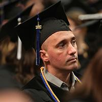Commencement 2017 image of student