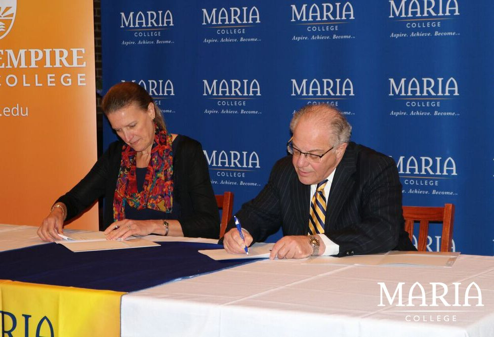 Maria partnership with SUNY ESC