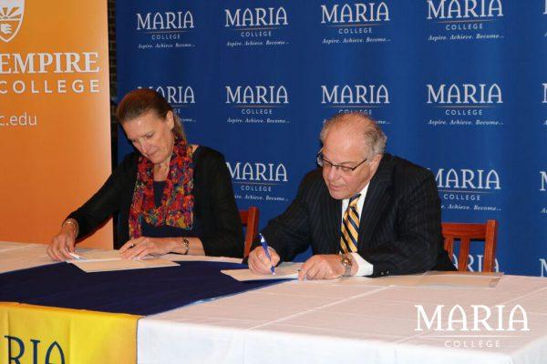 Maria partnership with SUNY ESC