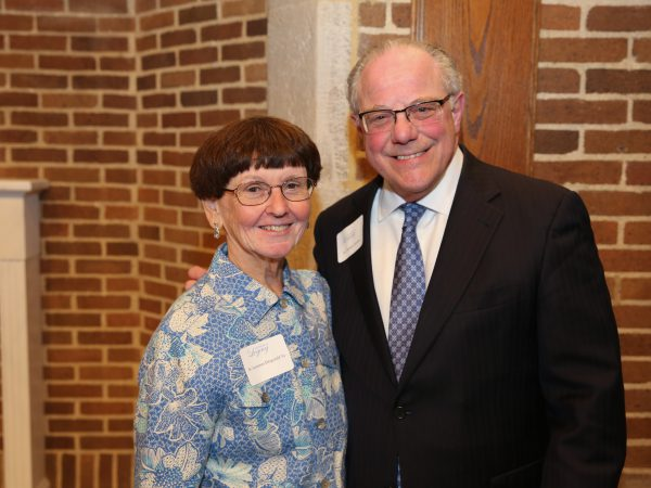 Honor the Legacy Event picture with Dr. Gamble