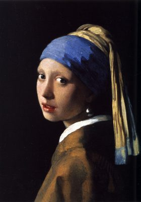 Girl with the Pearl Painting