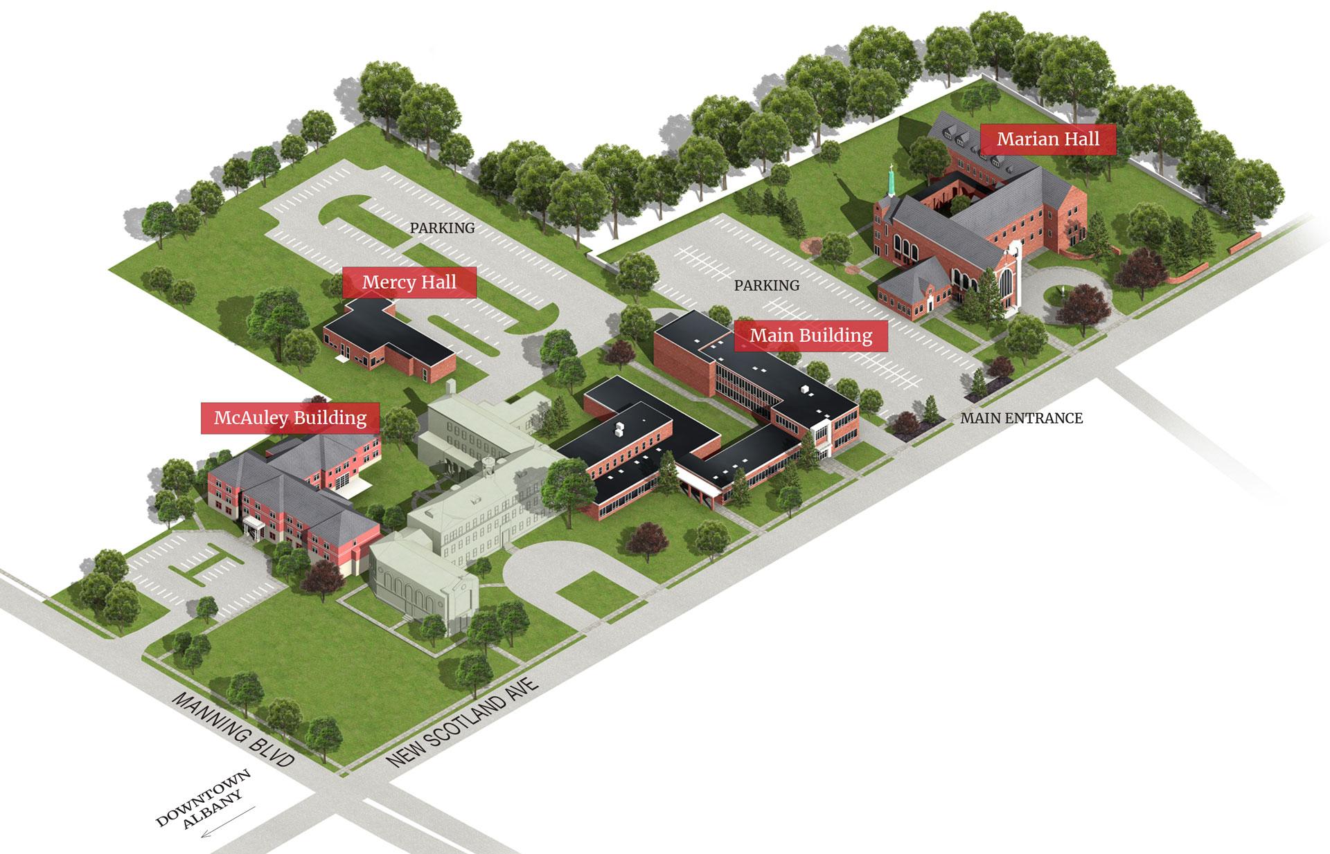 Campus Map Maria College