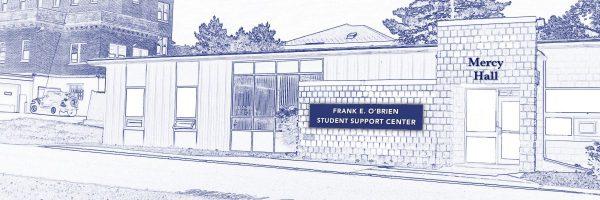 Illustration of Frank E. O'Brien Student Support Center