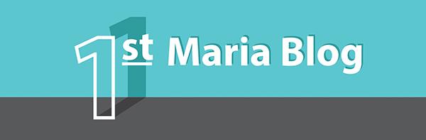 first Maria blog