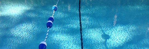 indoor pool and buoys