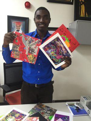 Eugene Uwiringiyimana from Rwanda