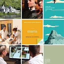 Maria Magazine Fall 2014 Cover cropped