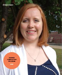 New Majors Feature - Kirsten Jesaitis, Degree Completion Program BSN