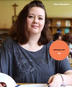 New Majors Feature - Niina Ohvanainen, Psychology BS