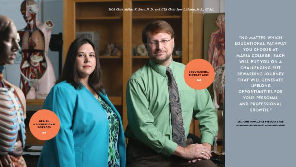 New Majors Feature - Melissa Boles, Health & Occupational Sciences BS and Scott Homer, Occupational Therapy ASST. AAS