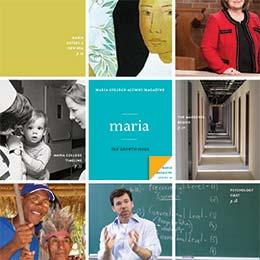 Maria Magazine Spring 2014 Cover
