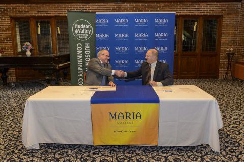 HVCC and Maria College Sign Student Transfer Agreement for