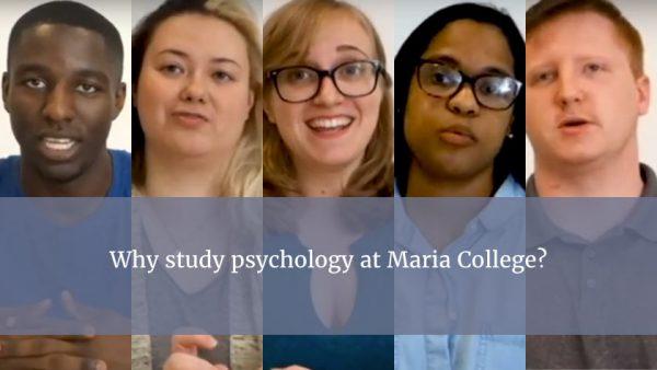 five psychology students