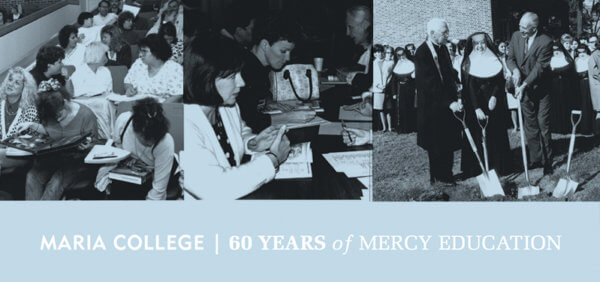 black and white photos of past students and classes