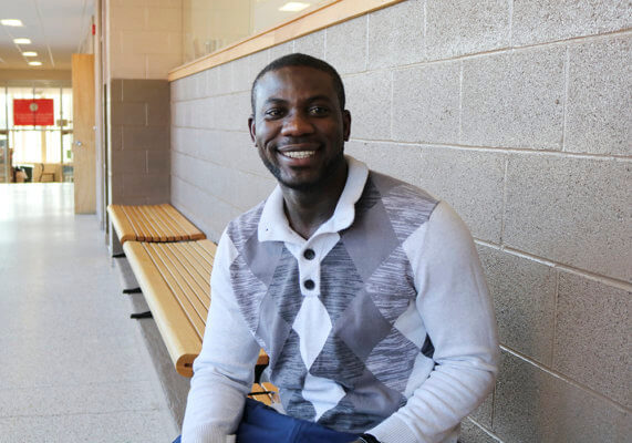 Joseph Aklassou-Gana Vangaurd Award recipient