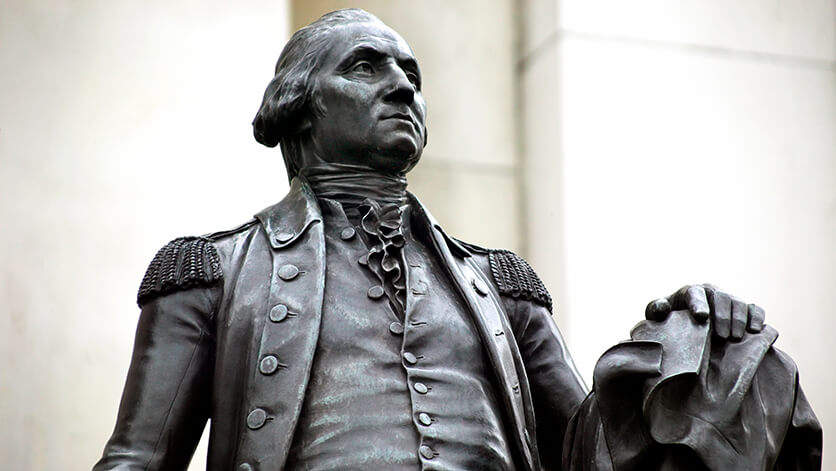 statues of president washington