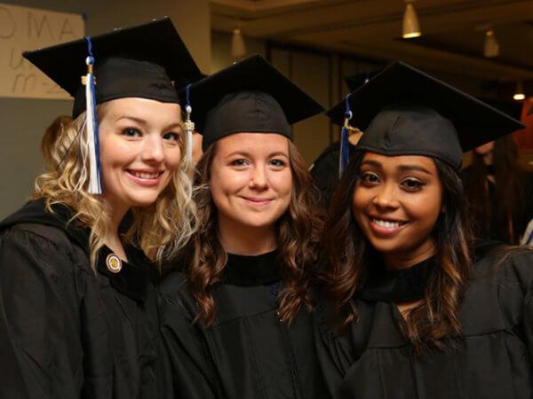 Three Maria College Graduates