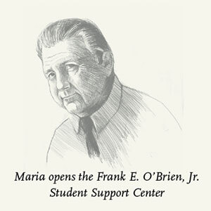 Illustration of Frank E. O'Brien, Jr.