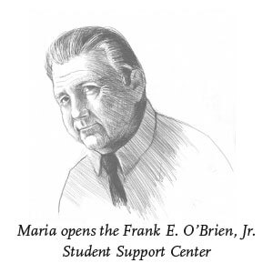 Illustration of Frank E. O'Brien, Jr.