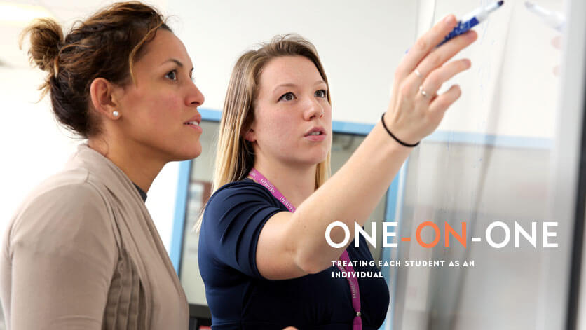One-on-One: Treating each student as an individual