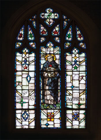Stained Glass Window: St Thomas Aquinas