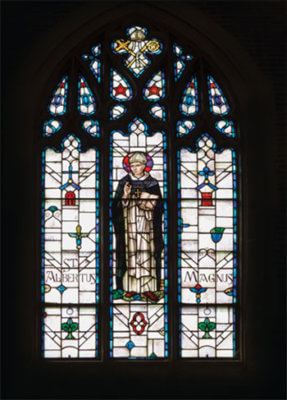 Stained Glass Window: St Albert The Great