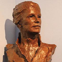 bust of Catherin McAuley