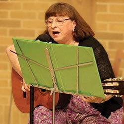 Guitarist Judy Rosebrook