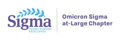 Omicron Sigma at-Large Chapter logo