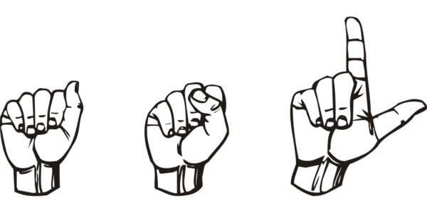 hands doing sign language