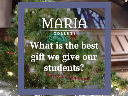 Maria College Holiday Icon