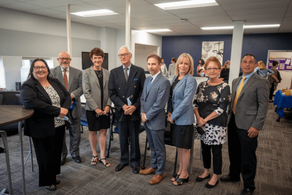 Opening of the Troy Savings Bank Writing and Communication Center